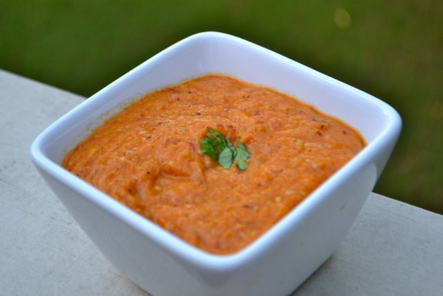 Spicy Roasted Tomatillo Sauce