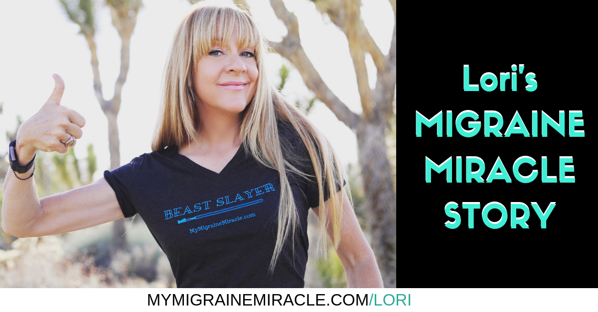 Lori's Migraine Miracle Story